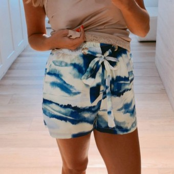 Short Degradado TANIT Azul