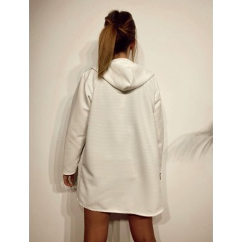 Chaqueta Textura JUICY Blanco Heve