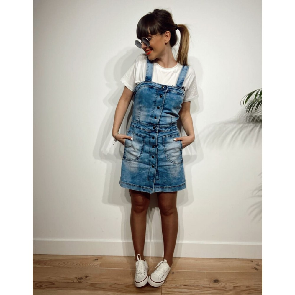 Vestido Denim WONDER Heve