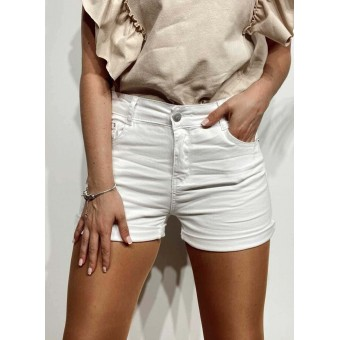 Short Denim TANZIE Blanco Heve