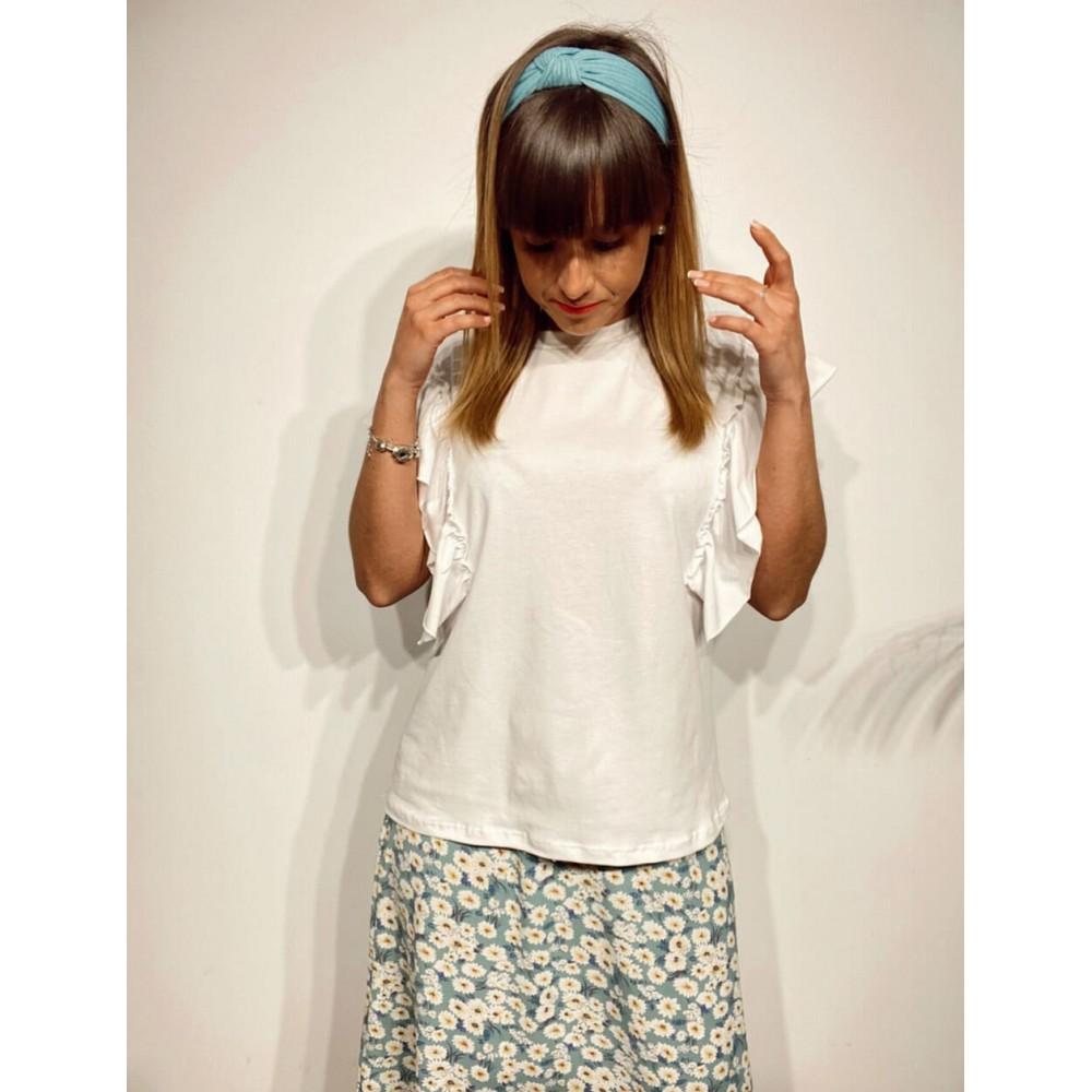 Camiseta Volante OPIUM Blanco Heve