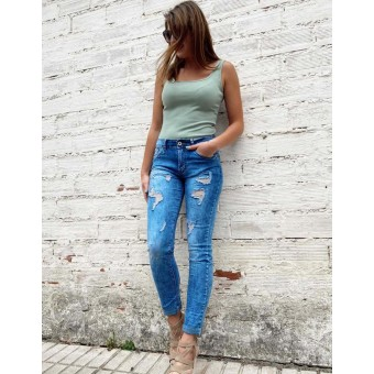 Jeans Ripped CLOUD Heve