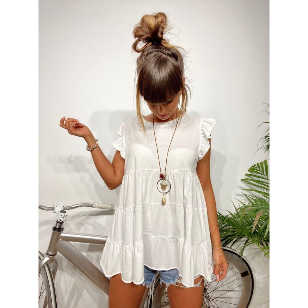 Camiseta Vuelo BLISS Blanco Heve