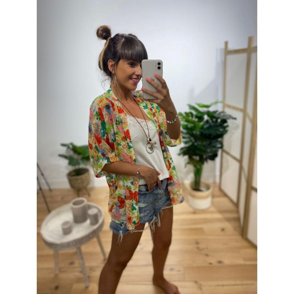 Kimono Gasa Estampado Ref. 006 Heve