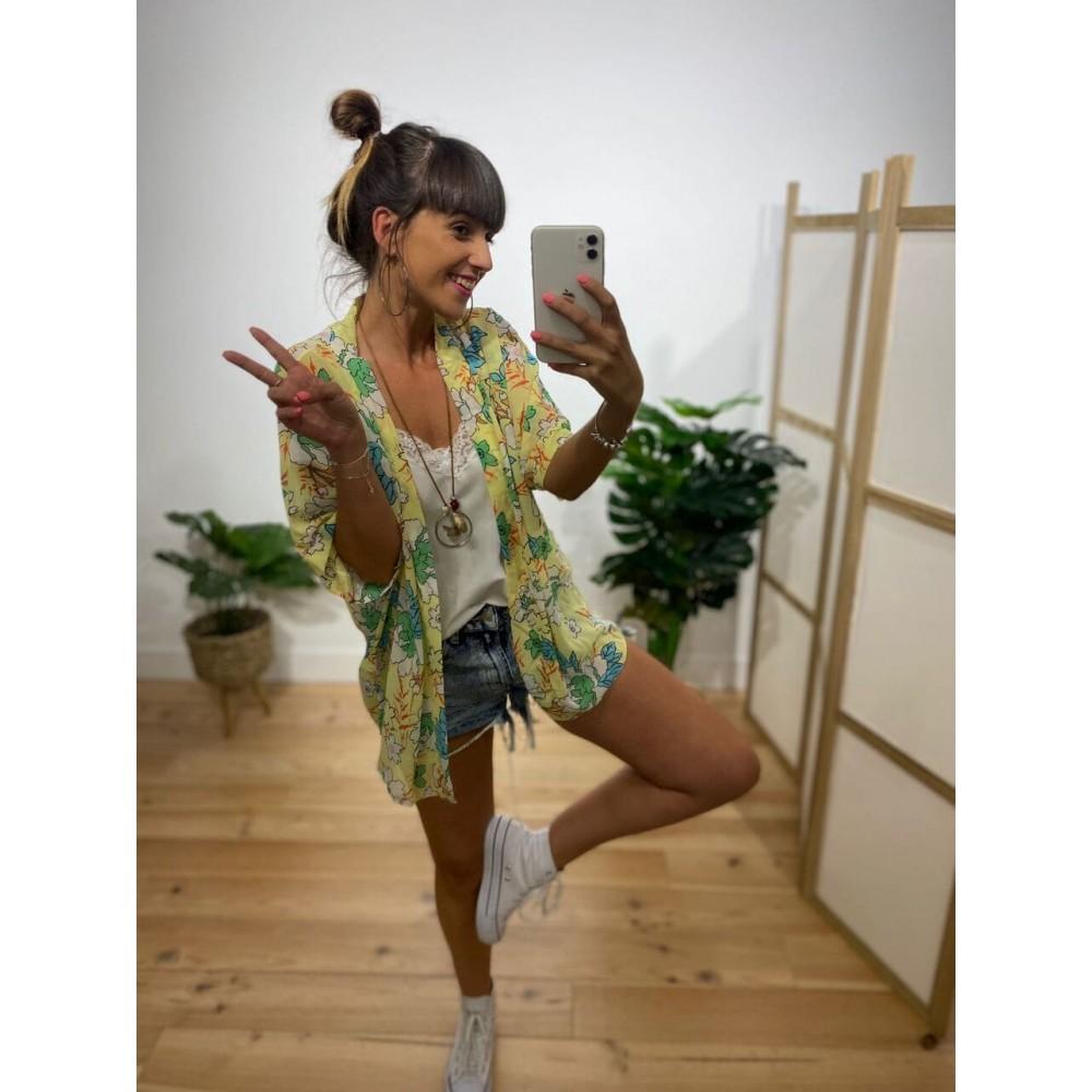 Kimono Gasa Estampado Ref. 007 Heve